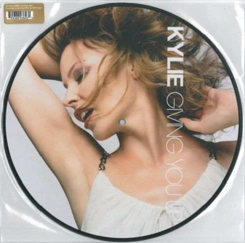 KYLIE MINOGUE Giving You Up Vinyl Record 12 Inch Parlophone 2005 Picture Disc